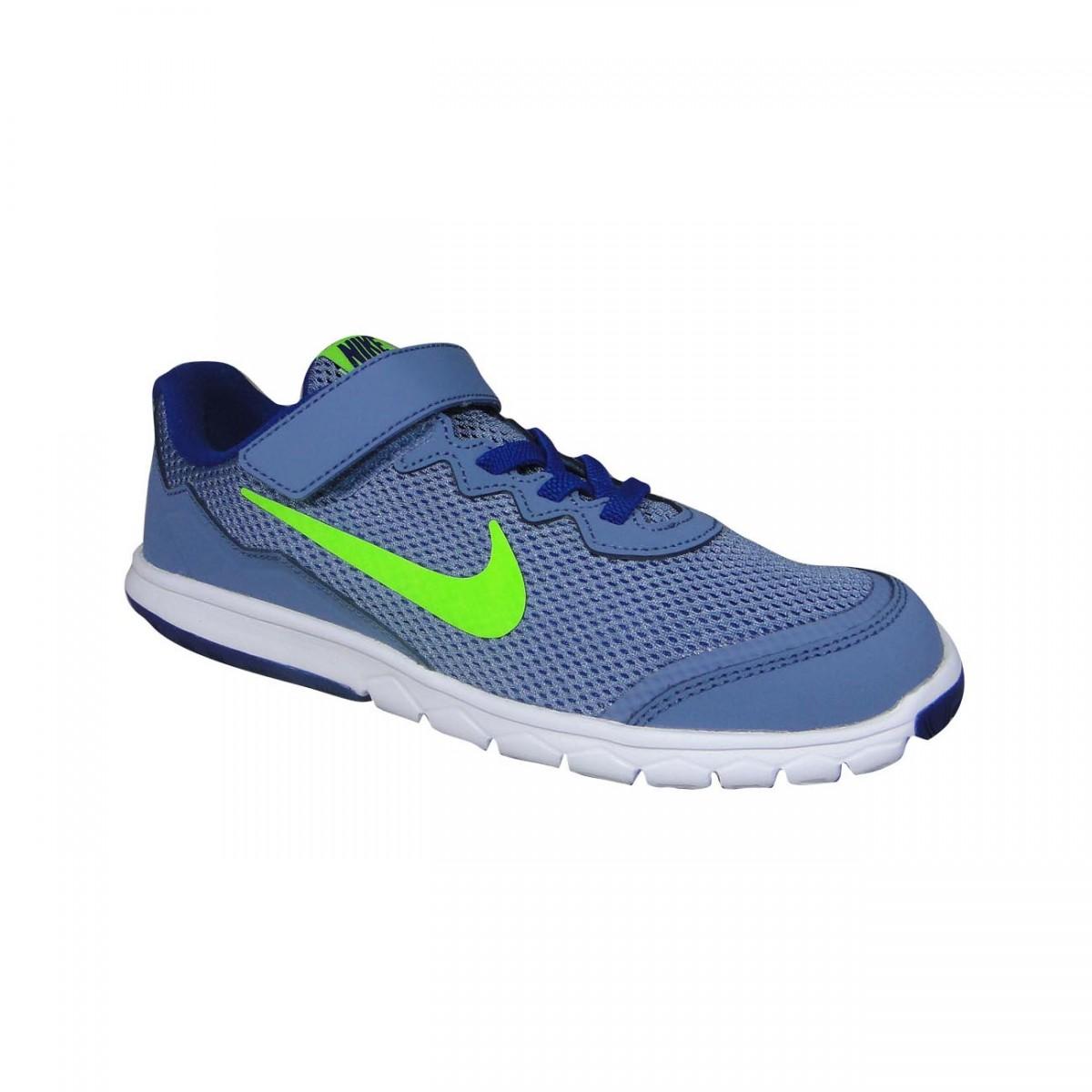 6e803c92fa Tenis Nike Flex Experience 4 Juvenil 749809 402 - Grafite Limão ...