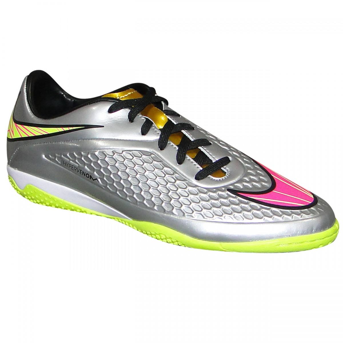 7caa367ccbb Tenis Nike Hypervenom Phelon Prem 677587-069 - Prata Pink - Chuteira ...