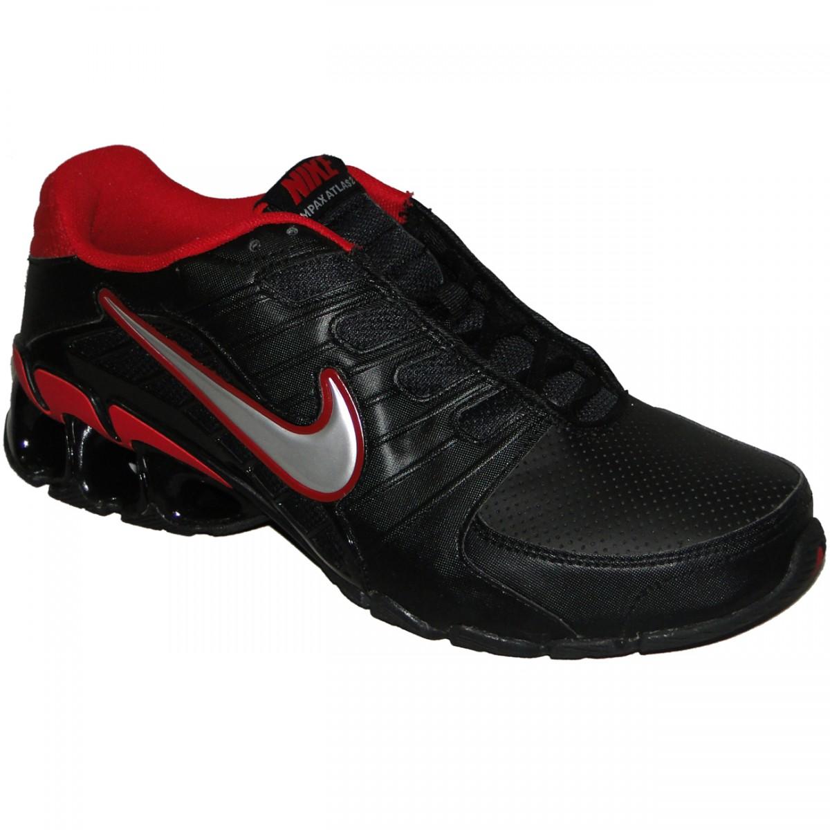 d2677ec0609 Tênis Nike Impax Atlas 2 Sl 8448 - PRETO PRATA VERMELHO - Chuteira Nike