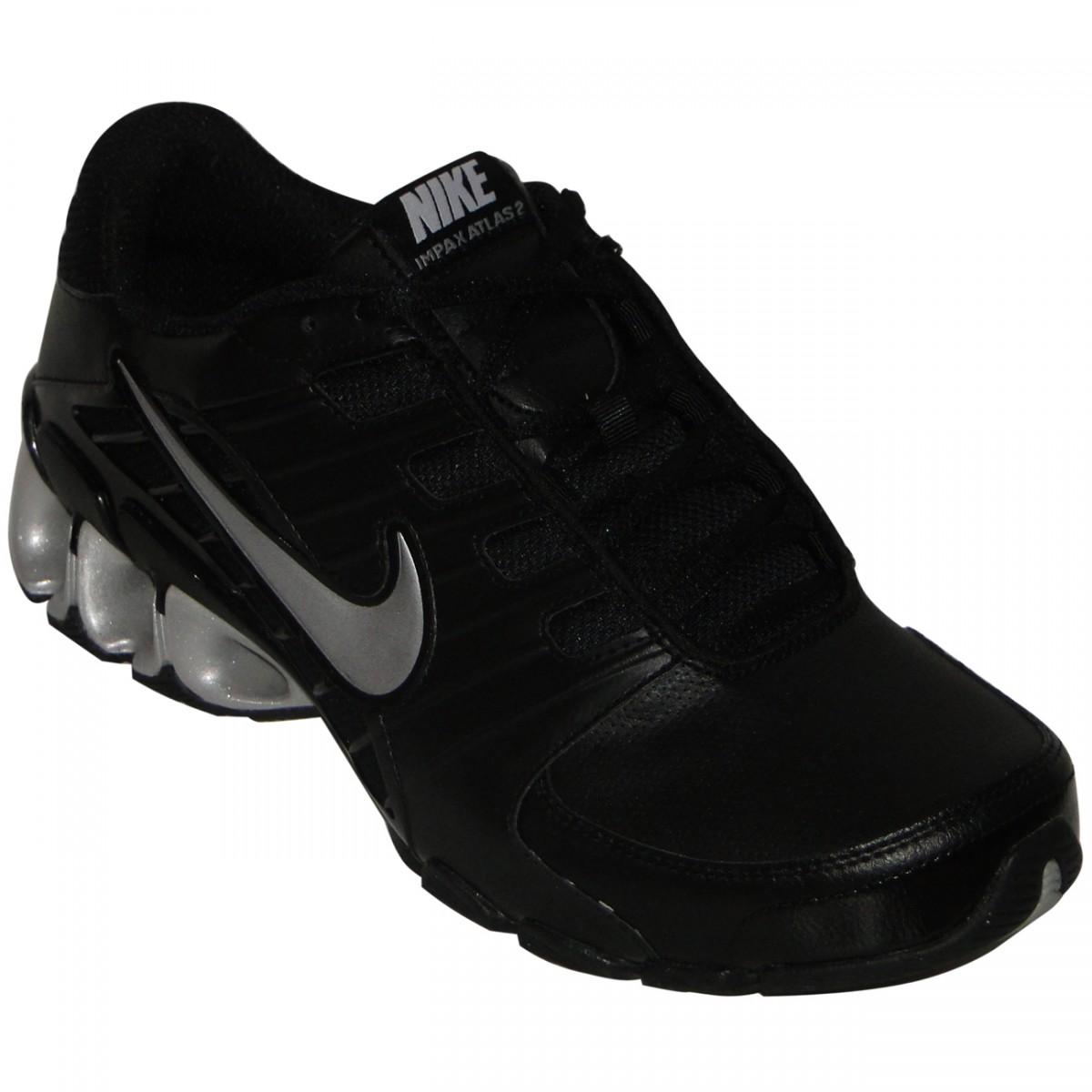 3b7bf55987 Tênis Nike Impax Atlas 2 Sl 3650 - PRETO PRATA - Chuteira Nike ...