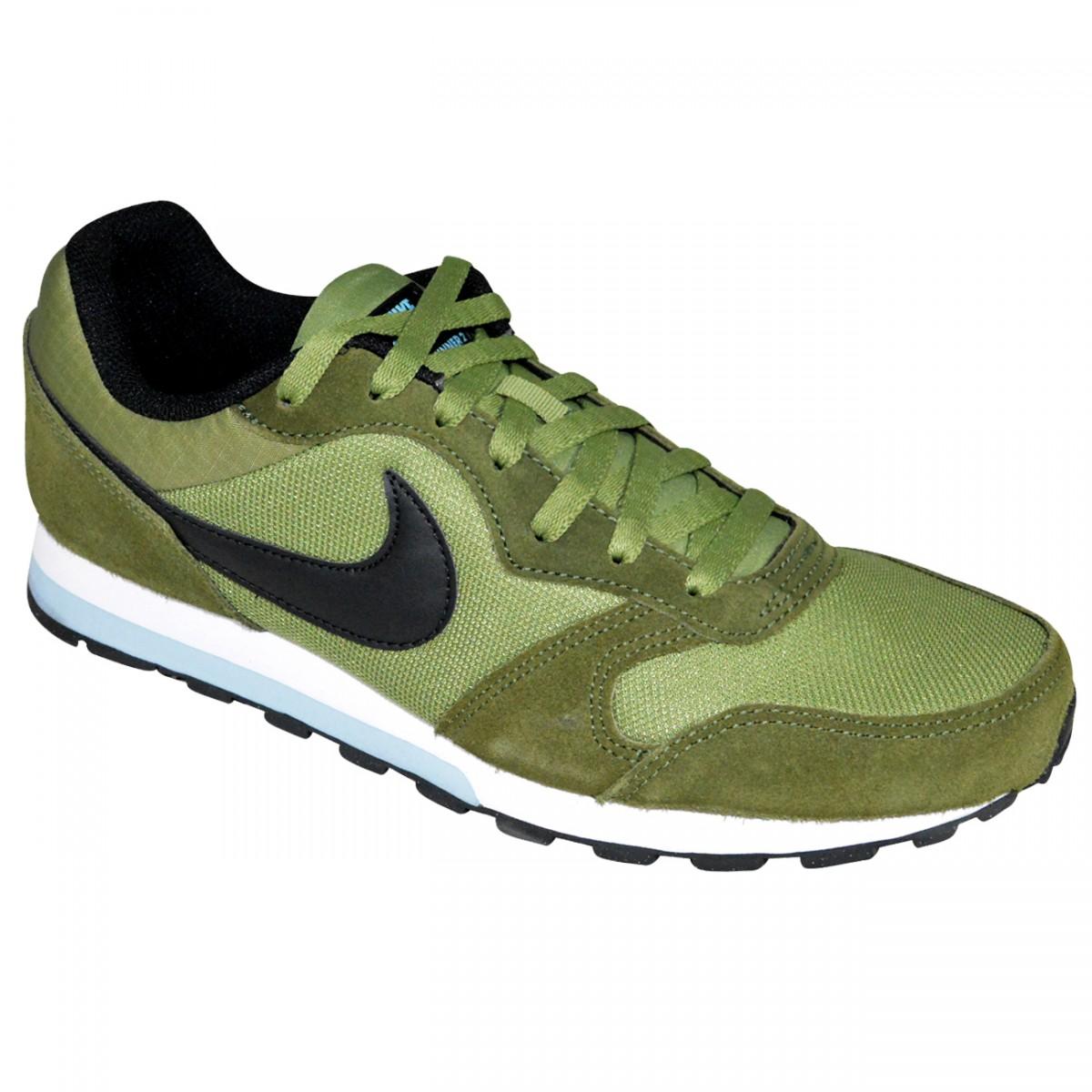 2eda9bb4b8 Tenis Nike MD Runner 2 749794 300 - Verde Militar Preto - Chuteira Nike