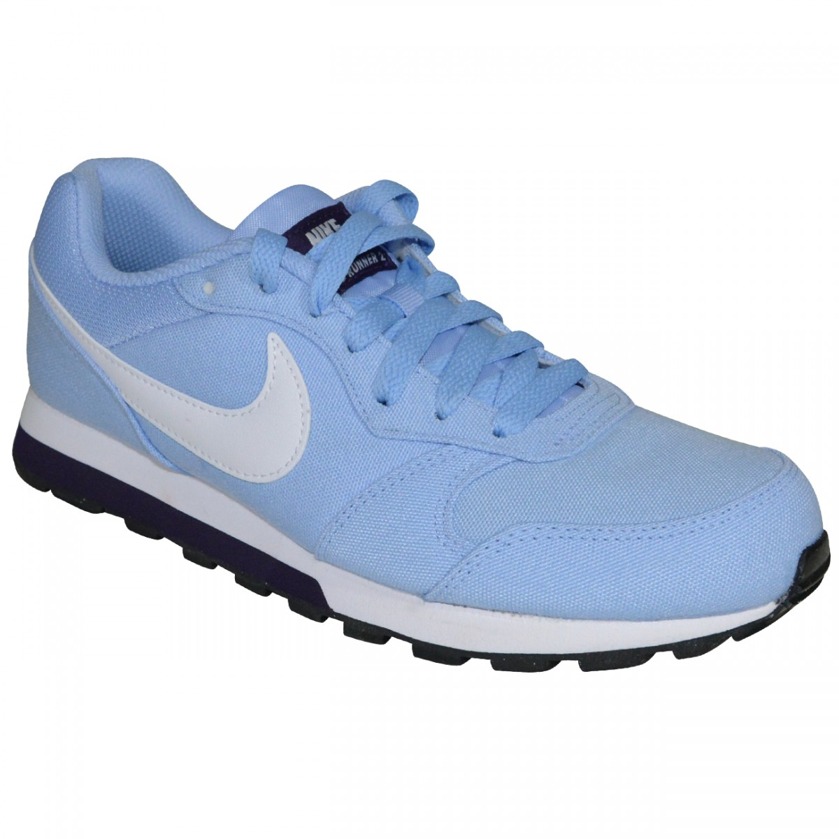 08e891fca Tenis Nike MD Runner 2 749869 405 - Azul Bebe Branco - Chuteira Nike ...