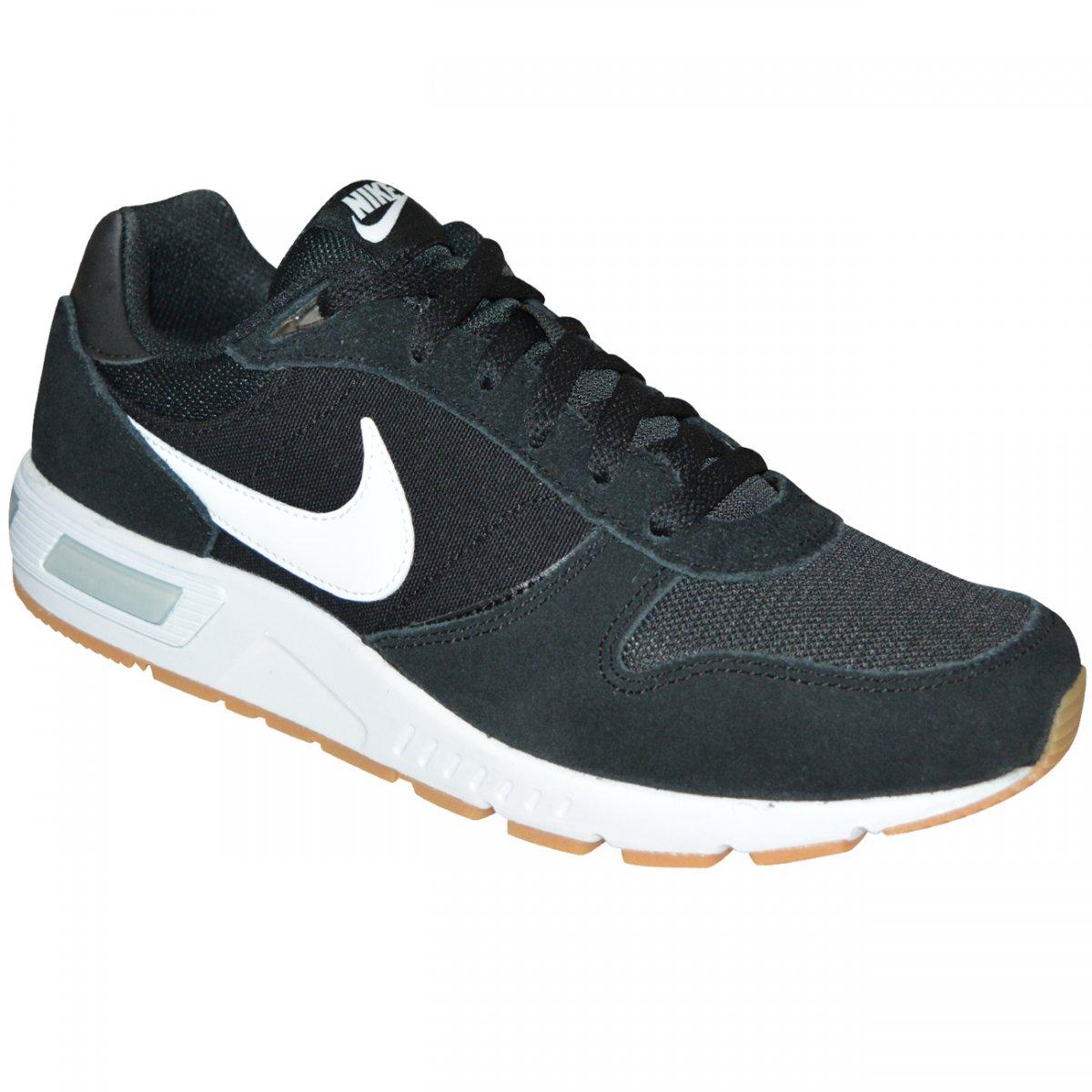 47b72d4f30 Tenis Nike Nightgazer 644402 006 - Preto branco - Chuteira Nike ...