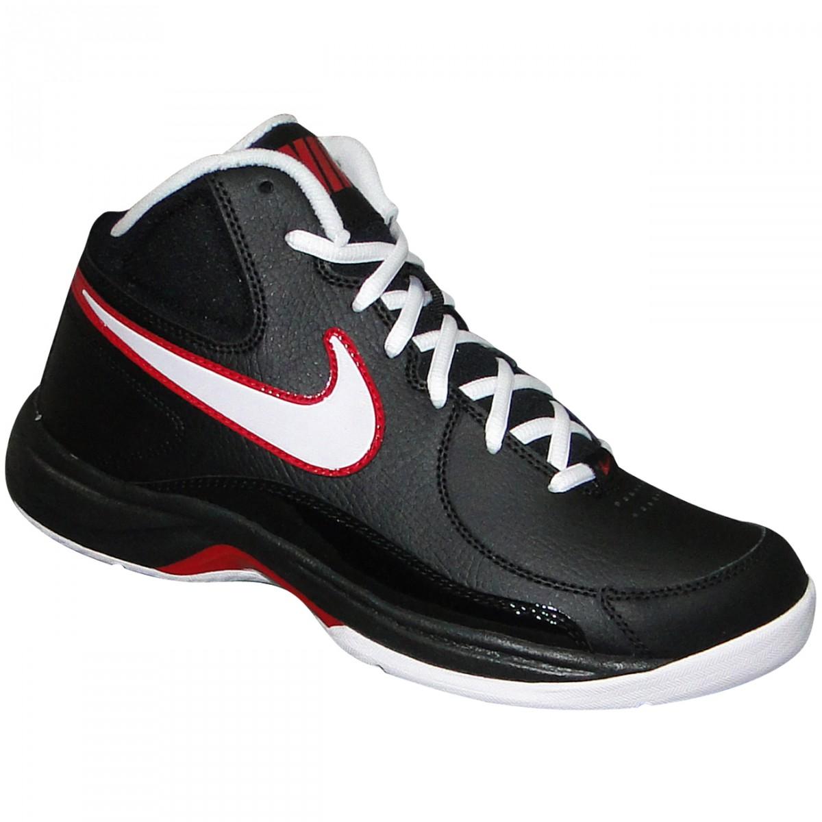 9e519ed8d2 Tenis Nike Overplay VII 511372 004 - Preto Branco Vermelho ...