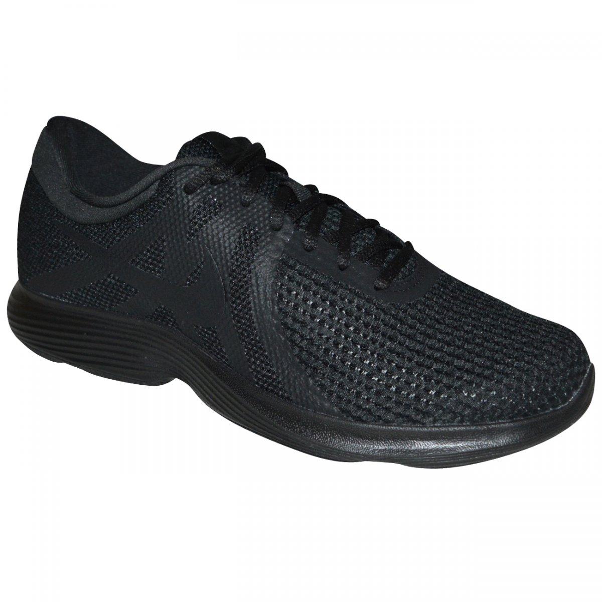 Tenis Nike Revolution 4 908988 002 - Preto preto - Chuteira Nike ... 2c3765120d353