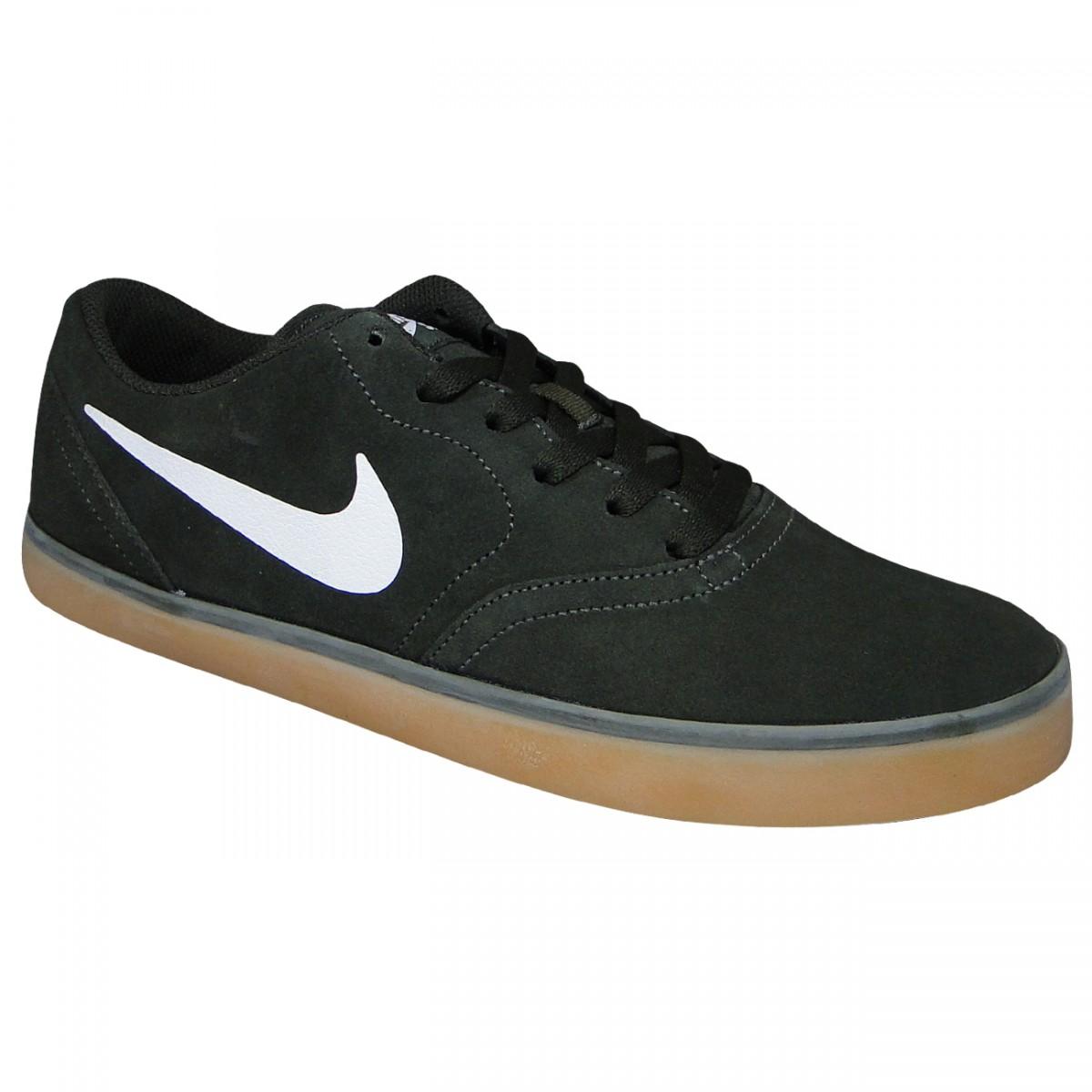 663af4dbfc1 Tenis Nike SB Check 705265 312 - Musgo Natural - Chuteira Nike ...