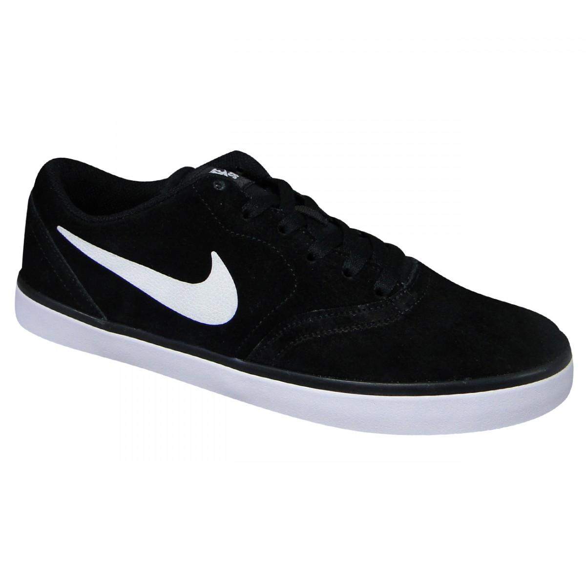 8cdfe03e223 Tenis Nike SB Check 705265 004 - Preto Branco - Chuteira Nike ...