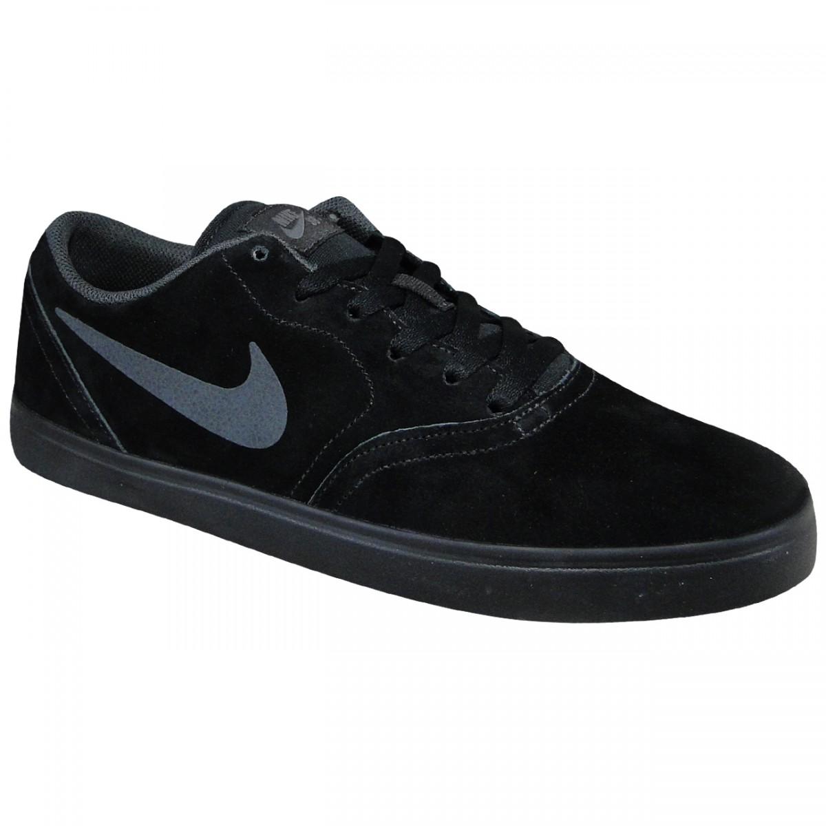 bb78fd853af Tenis Nike SB Check 705265 005 - Preto Preto - Chuteira Nike