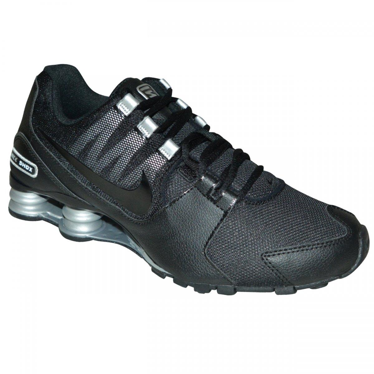 aedc4ea89d6 Tenis Nike Shox Avenue 833583 001 - Preto preto prata - Chuteira Nike