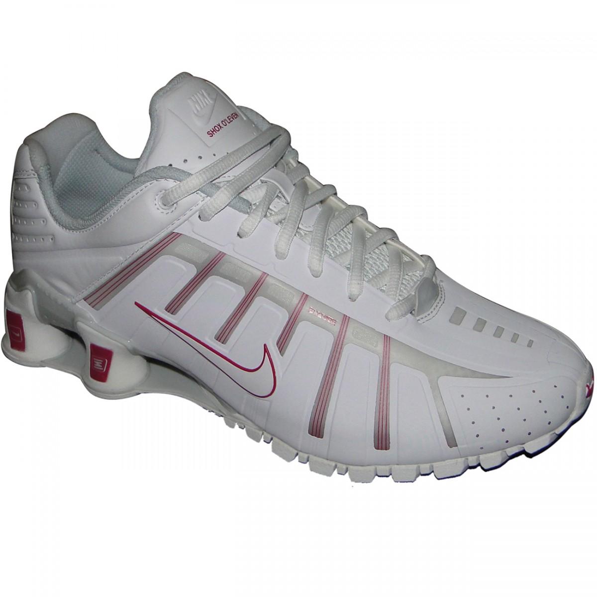 premium selection 4ddfa 8b650 Tênis Nike Shox O leven 429868105 - BRANCO LILAS - Chuteira Nike, Adidas.  Sandalias Femininas. Sandy Calçados