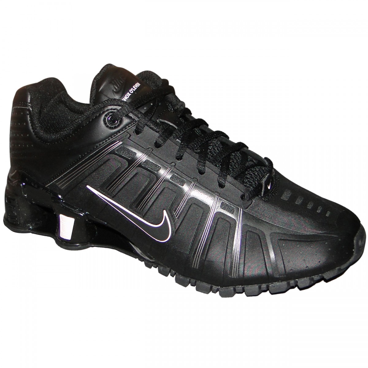 51d0eb30c564 Tênis Nike Shox O leven 3181 - PRETO ROSA - Chuteira Nike