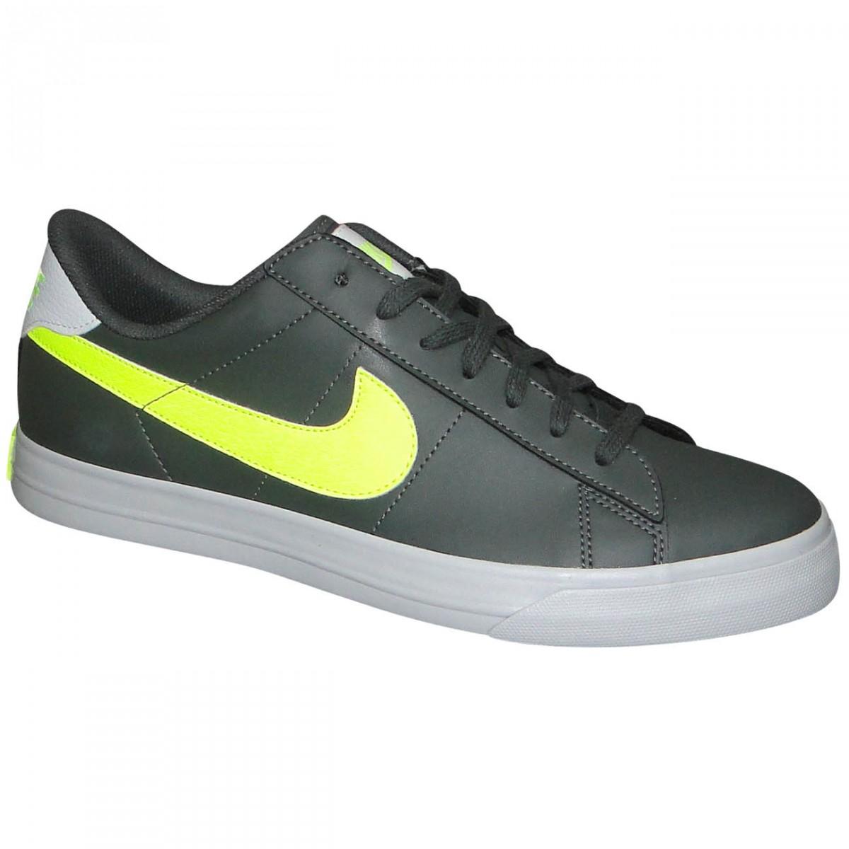 9fd34b4da18 Tenis Nike Sweet Classic Low Sl 580442 013 - Chumbo Limão - Chuteira ...
