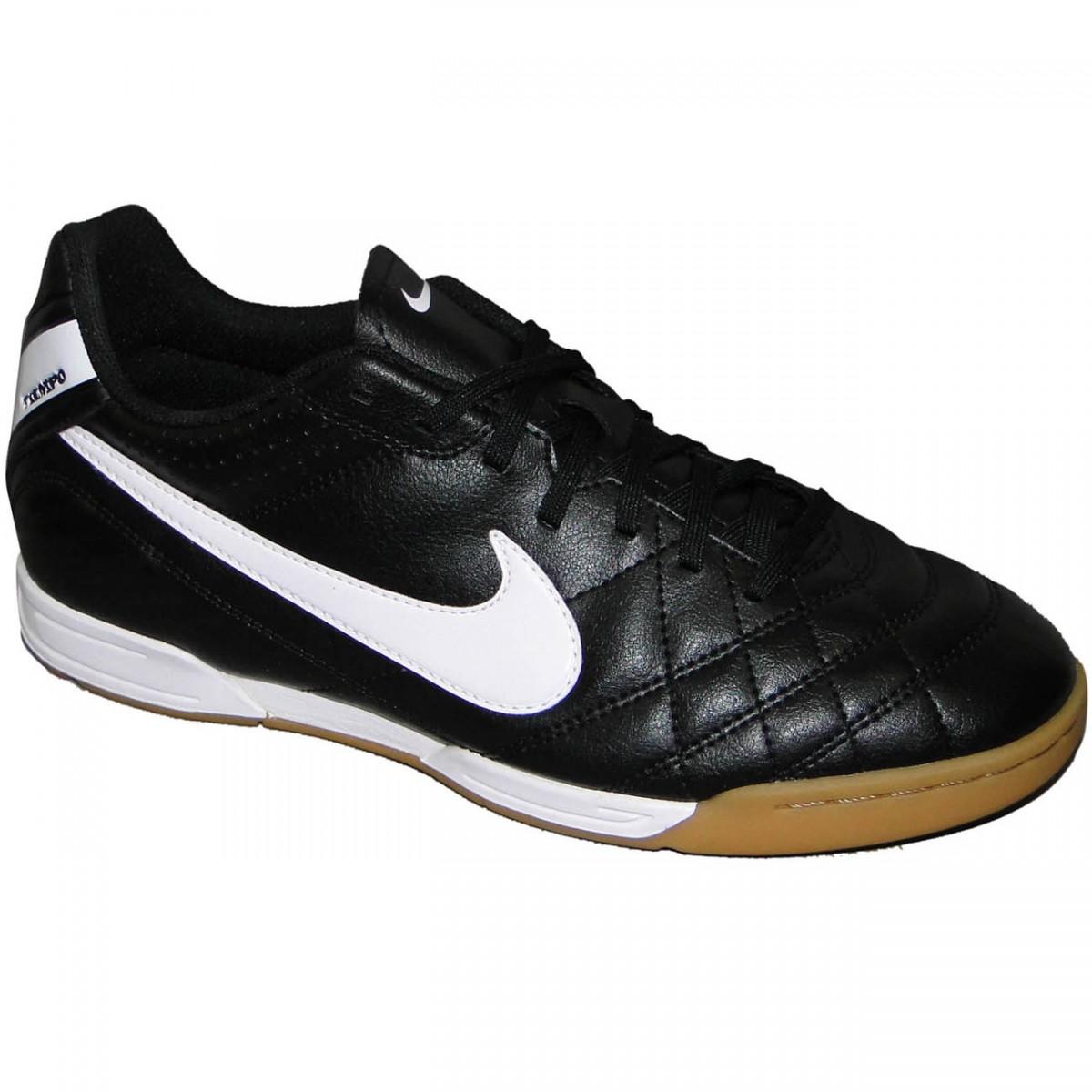 TENIS NIKE TIEMPO NATURAL IV 9215 - PRETO BRANCO LARANJA - Chuteira Nike 76ac8796a94f9
