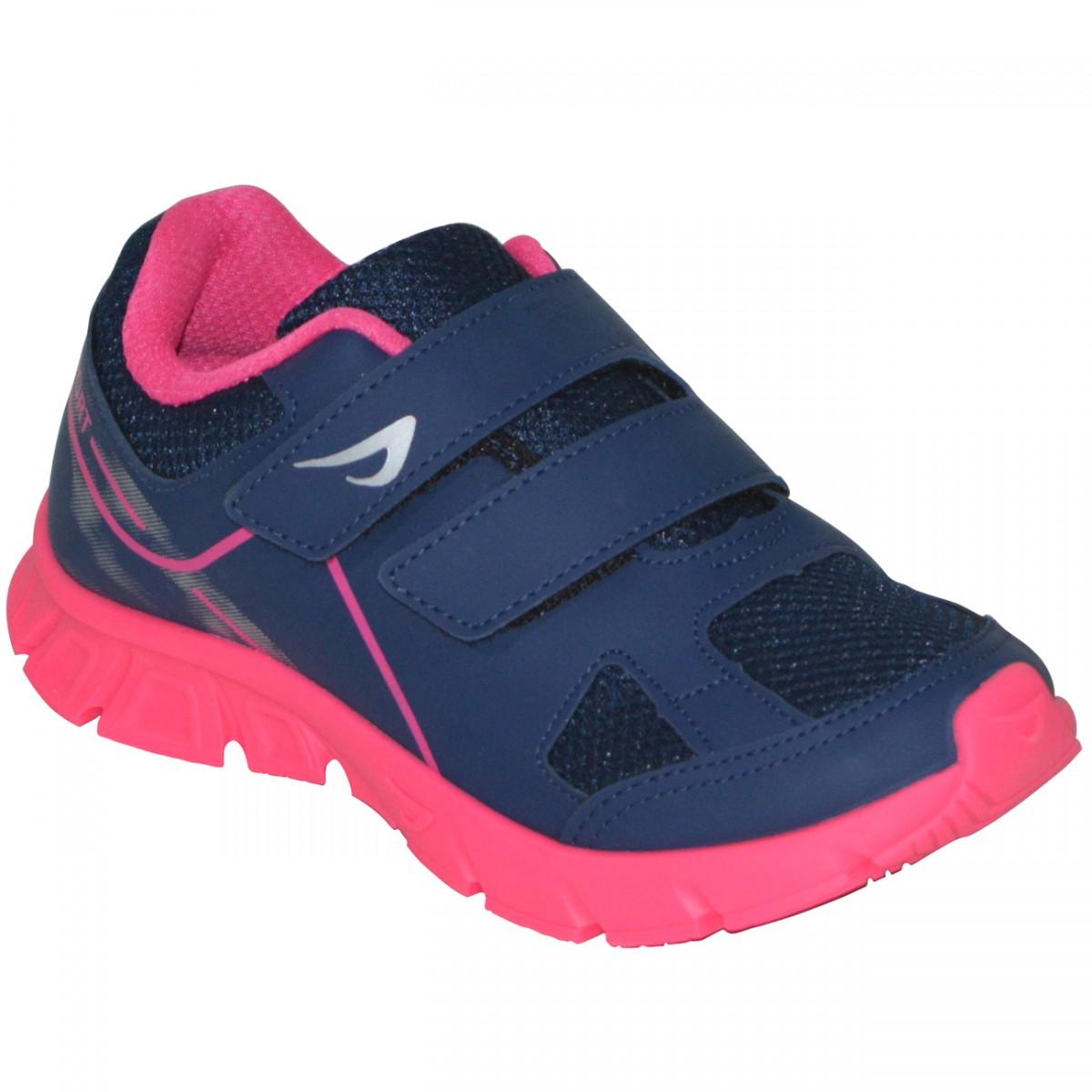 4f8457072 Tenis Ortopé New Jogging 2137017 Juvenil 2137017 - Marinho/Pink - Chuteira  Nike, Adidas. Sandalias Femininas. Sandy Calçados