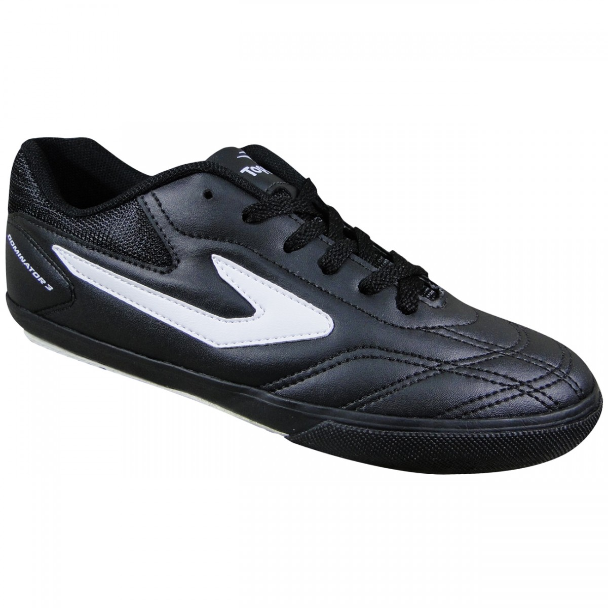 4e8b9c1649e Tenis Topper Dominator III Futsal 4132751 133 - Preto Branco - Chuteira  Nike