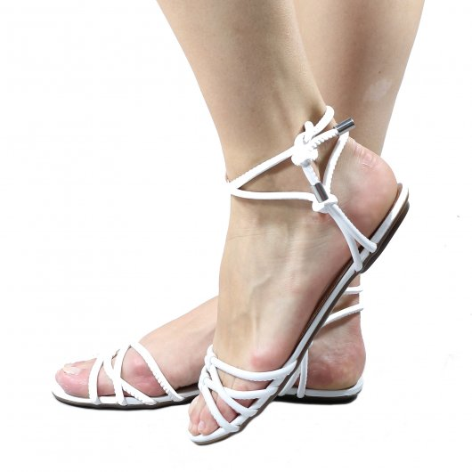 Sandalia Schutz Rasteira