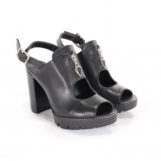 Sandália Smidt Shoes Salto Bloco