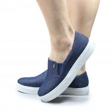 Imagem - Tenis Santa Lolla Slip-On Jeans cód: 025862