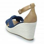 Sandalia Offline Anabela Jeans
