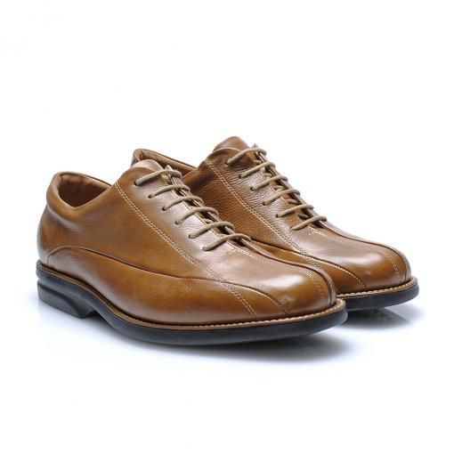 Sapato Anatomic Gel 40009 cor Conhaque
