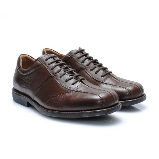 Sapato Anatomic Gel 60117 cor Chocolate