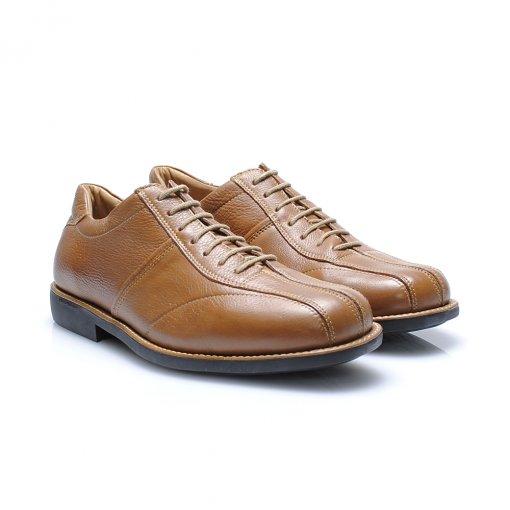 Sapato Anatomic Gel 60117 cor Conhaque