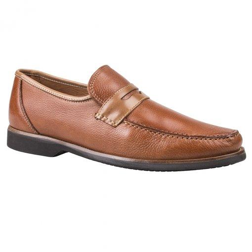 Sapato Anatomic Gel 9730 cor Conhaque
