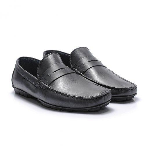 Sapato Casual Casual 29001 cor Petroleo