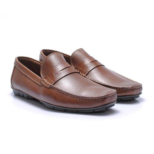 Sapato Casual Jovaceli 29001 cor Pinhão