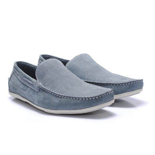 Sapato Casual Jovaceli 6602 cor Oceano