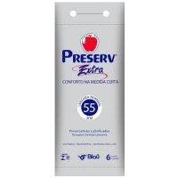 Imagem - Preservativo Preserv Extra Grande 6 Unidades cod: