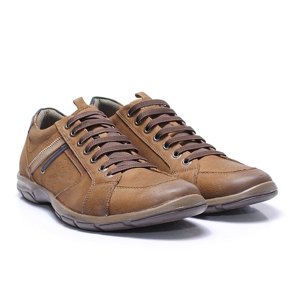 Sapatênis Ferricelli ZR42470 cor Café - - Sapato Grande - Sapatos ... ab25a6d6a9228