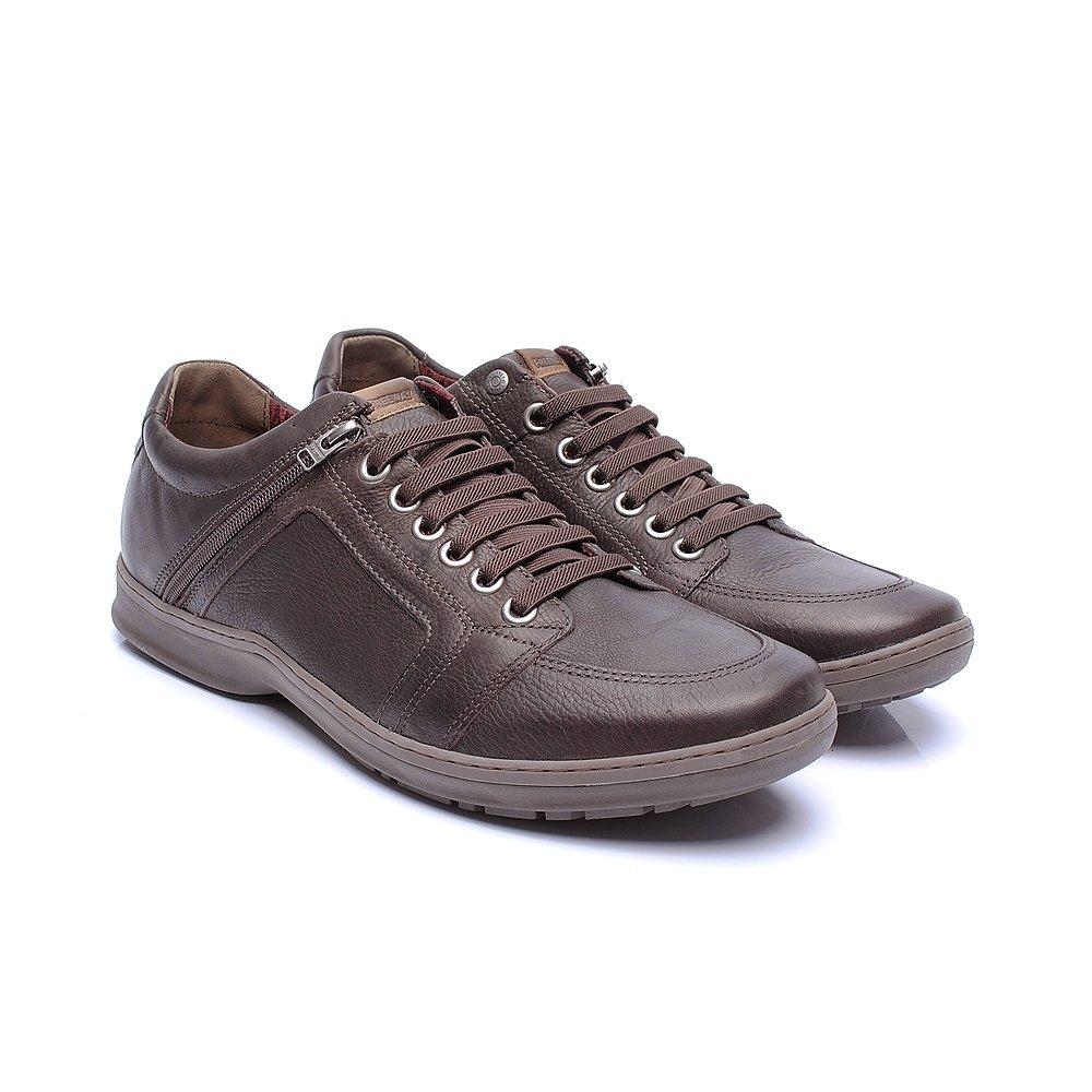 Sapatênis Free Way Booster cor Moca - - Sapato Grande - Sapatos ... 28546d6c533d6