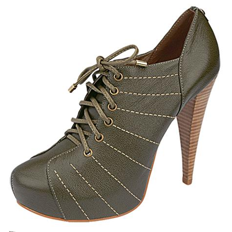 Ankle Boot Belmon - 284 Militar - 33 ao 43