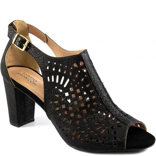 Ankle Boot Com Recortes Número Especial Sapato Show 1080317