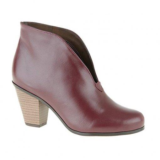 Ankle Boot Italeoni Numeração Especial - 8883 Bordô