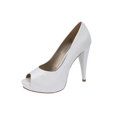 Peep Toe Belmon - 517 Branco - 33 ao 43