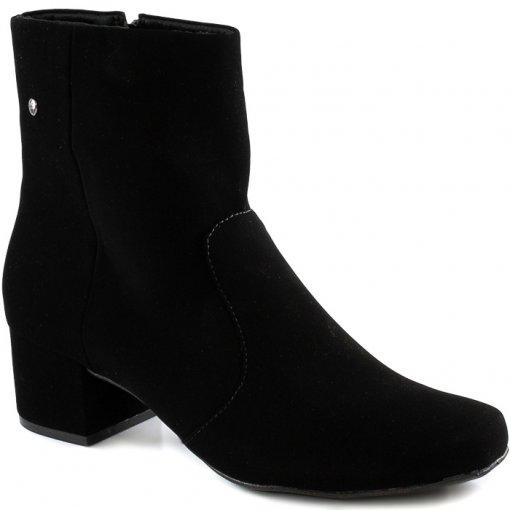 Bota Block Heel Numeração Especial Sapato Show 2590770