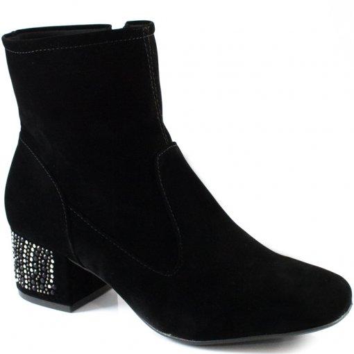 Bota Com Strass Numeração Especial Sapato Show 2538570