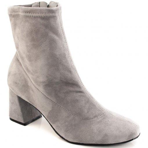 Bota Skinny Boot Veludo Cravo e Canela 155302