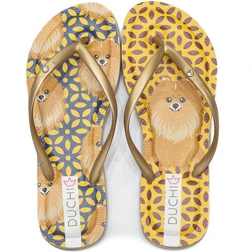 Chinelo Feminino Estampado Verão 2020 Sapato Show ACC25001