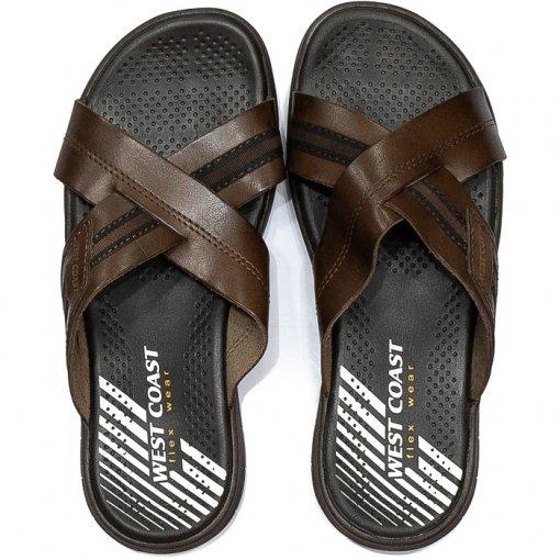 Chinelo Tiras Cruzadas West Coast Flex Wear 203504