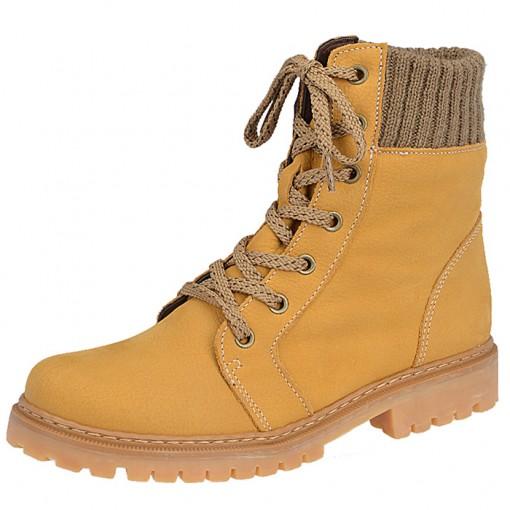 Coturno Feminino Yellow Boot Via Telli - 700