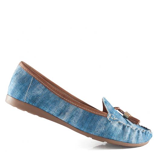199f7eefd Mocassim Feminino Sapato Show - 21405151 - Jeans