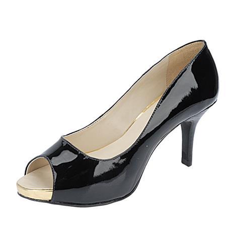 Peep Toe Feminino Belmon - 14102 - Ouro