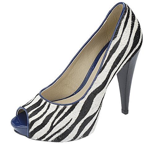 Peep Toe Numeração Especial Belmon - 13108 Zebra