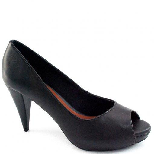 Peep Toe Sapato Show Numeração Especial - 13102