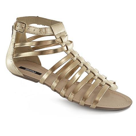 Rasteira Dourada Sapato Show 4042