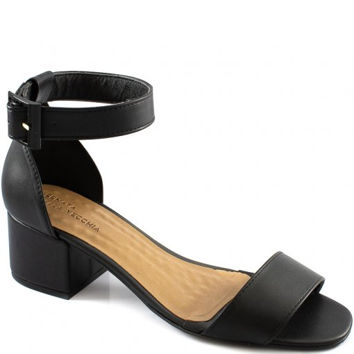 Sandália Block Heel Número Especial Sapato Show 2520278