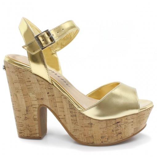 Sandalia Carmim 23938 - Ouro  b25dedaa765